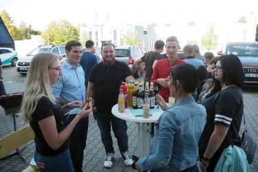 Mitarbeiter-Grillfest bei EffiCon Meerane